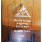 Acrylic Peak Award with Pedistal Base.