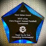 Acrylic Award - Blue comes in other colors as well